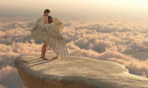 Любовь ангела и человека
