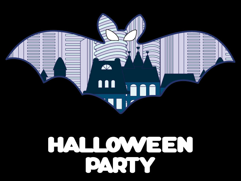 Хэллоуин в векторе