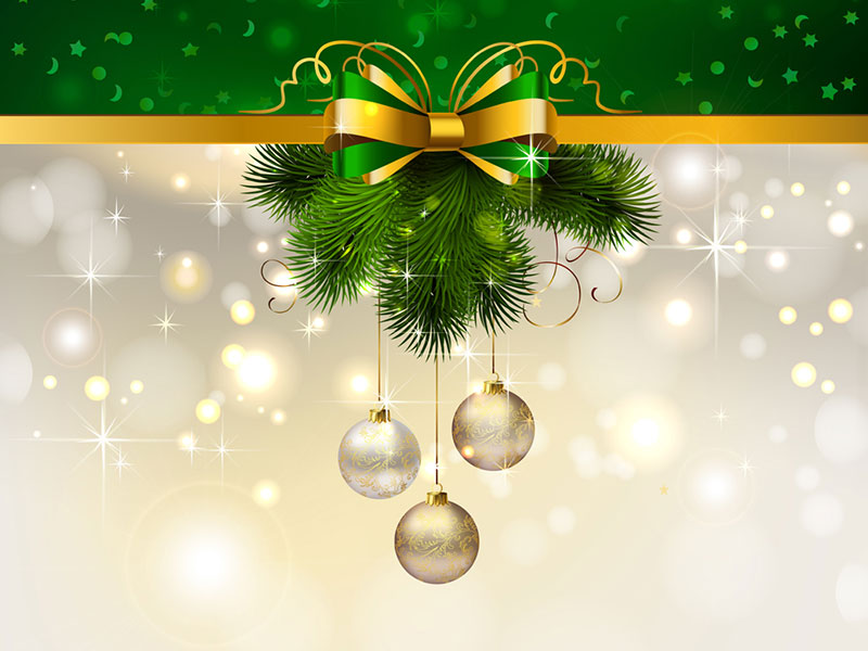 Рождество в векторе