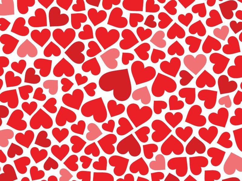 Сердечки в векторе