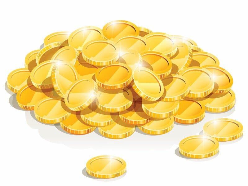Золото в векторе
